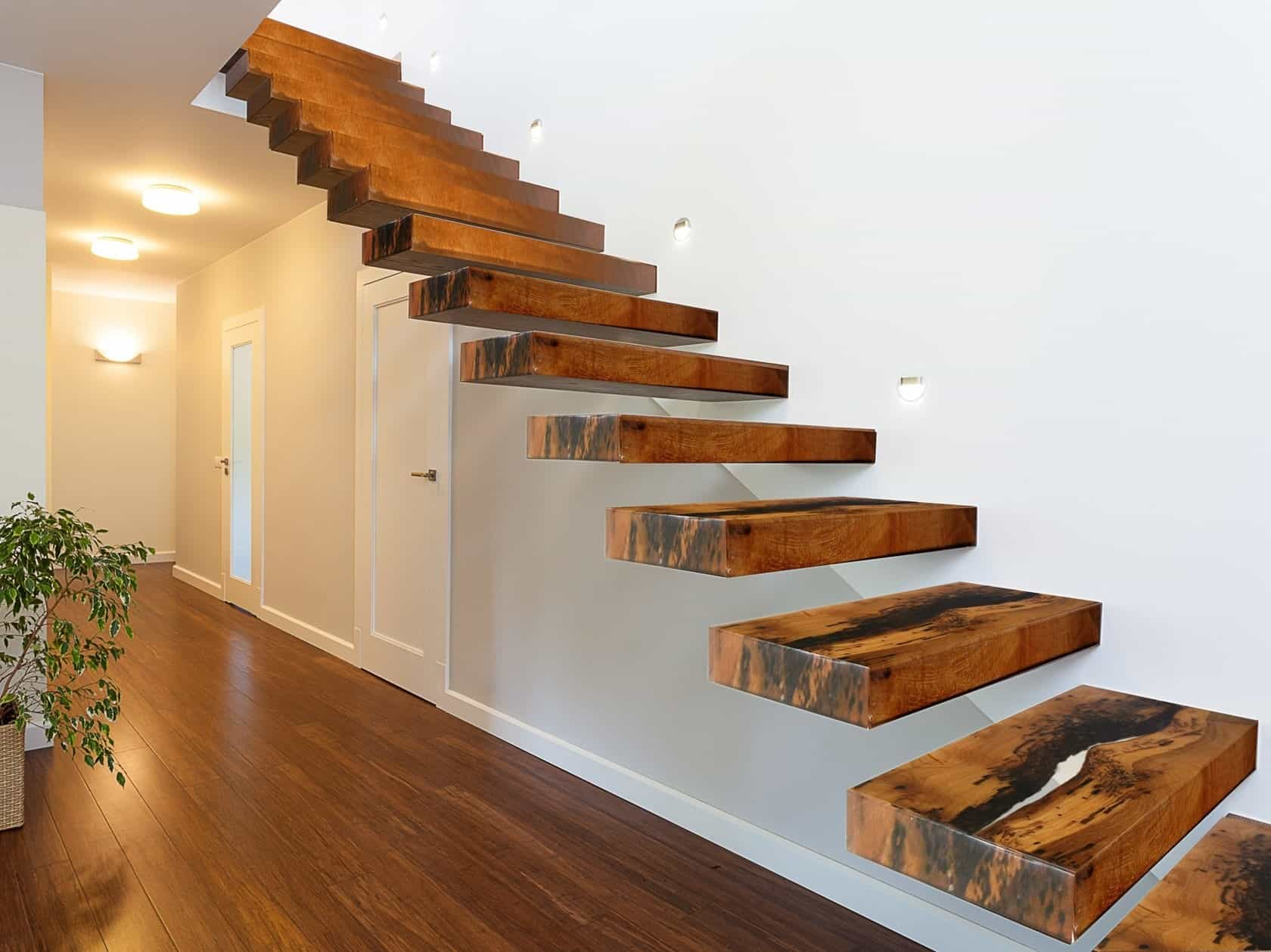 A Floating Treads Staircase