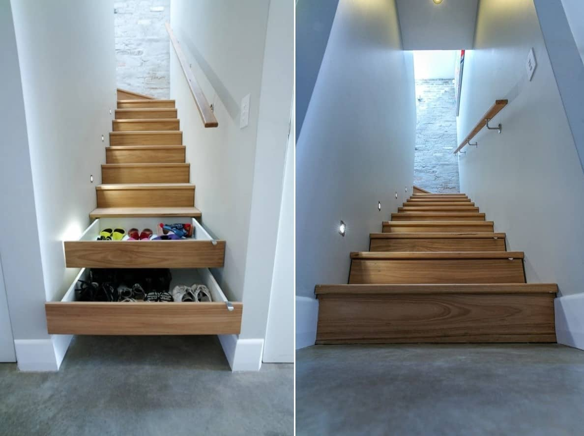 A Staircase with Storage