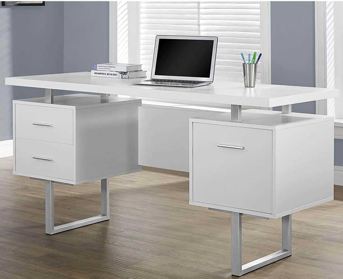 Computer Desk with filing drawers