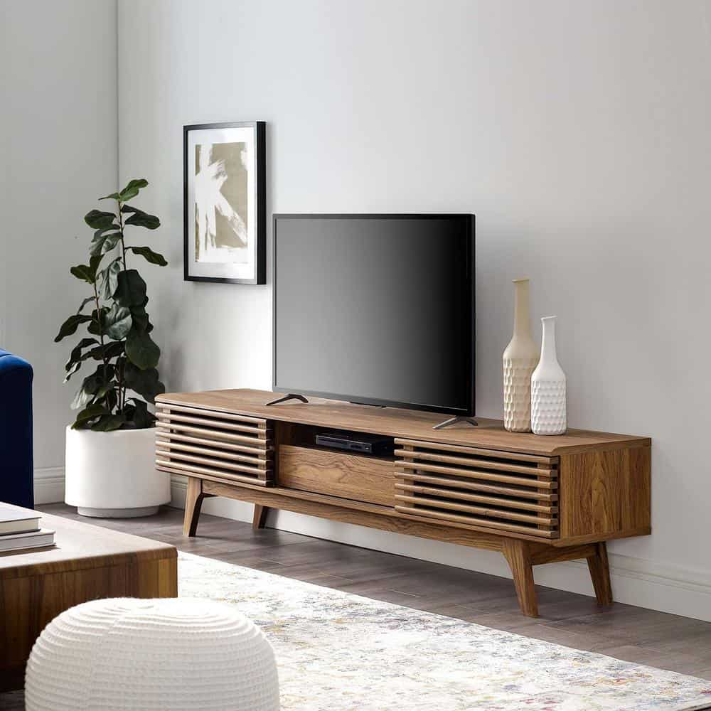 TV Stand Ideas with Old Crates